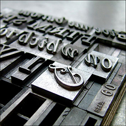 Hot lead typesetting, hot metal, and hot type) is a technology for typesetting text in letterpress printing